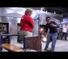 Pure Michigan Glassblowing in Kalamazoo!