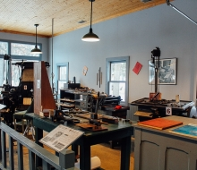 Newspaper Office Print Shop