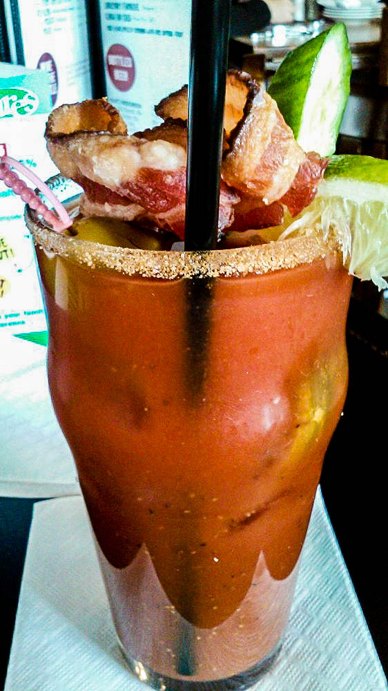 "The ""Hail Mary"" Bloody Mary at The Union Photo credit http://goo.gl/tgx2xq"