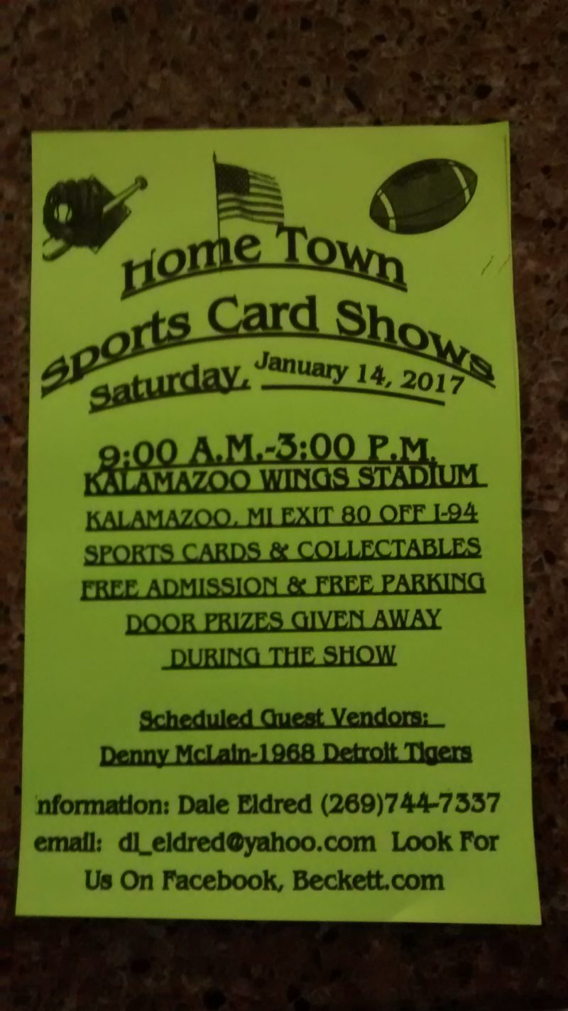 Home Town Sports Card Show